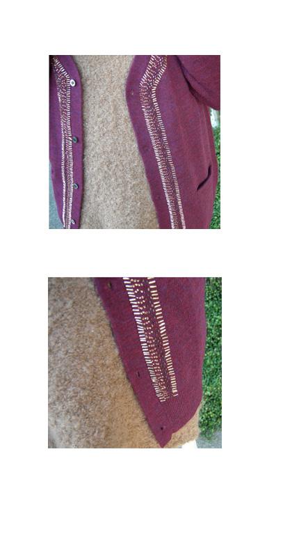 Ebony ivory Vネック ビーズ刺繍カーディガン_a0130646_17954.jpg