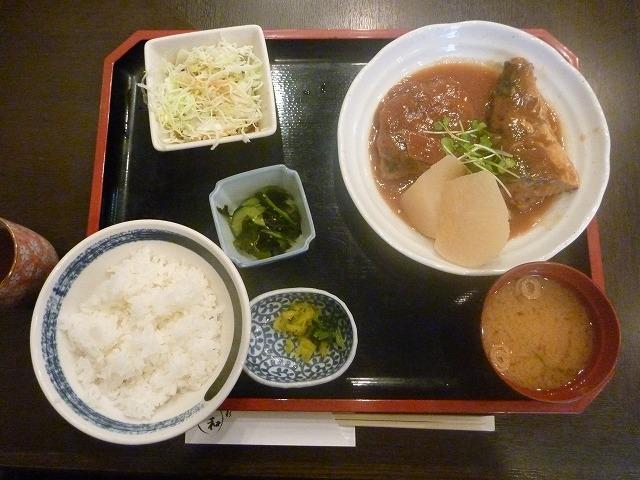 魚彩 和 / 煮魚定食_e0209787_15264164.jpg