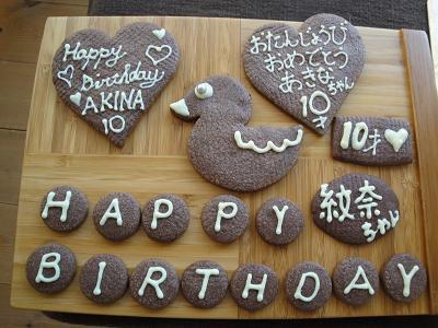お誕生日ケーキ_e0170128_17574991.jpg