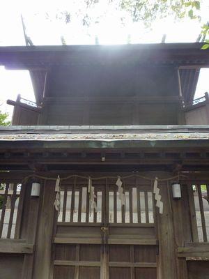 天照神社(2)奉納された稲穂の由来_c0222861_21504098.jpg