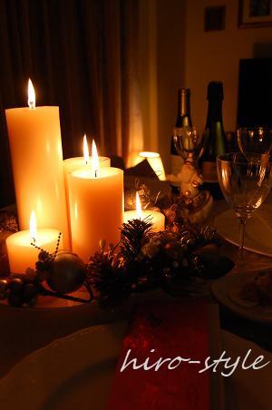 灯りだよりのクリスマス*_c0128886_833081.jpg