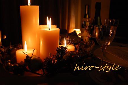 灯りだよりのクリスマス*_c0128886_864438.jpg