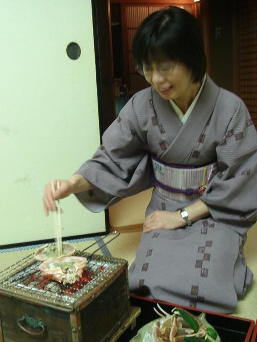2010 年カニの旅@西村屋本館_f0215324_0143462.jpg