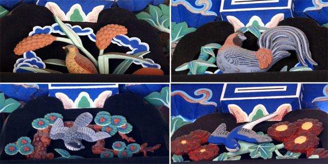 岩木山神社 柱に戯れる狛犬など_a0136293_1151715.jpg