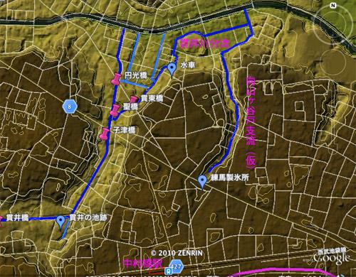 貫井川の暗渠(川跡)を辿る(3)下流部分流と向山ヶ谷戸支流_c0163001_23261563.jpg