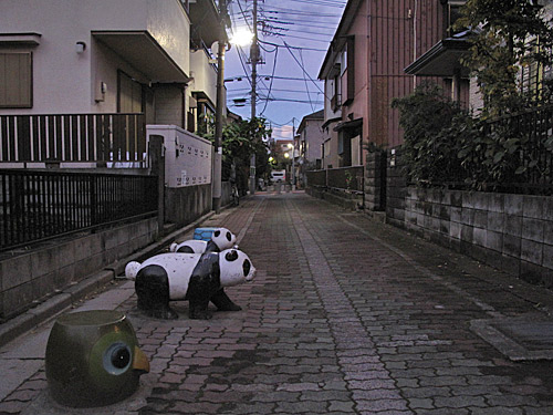 貫井川の暗渠(川跡)を辿る(3)下流部分流と向山ヶ谷戸支流_c0163001_2327847.jpg