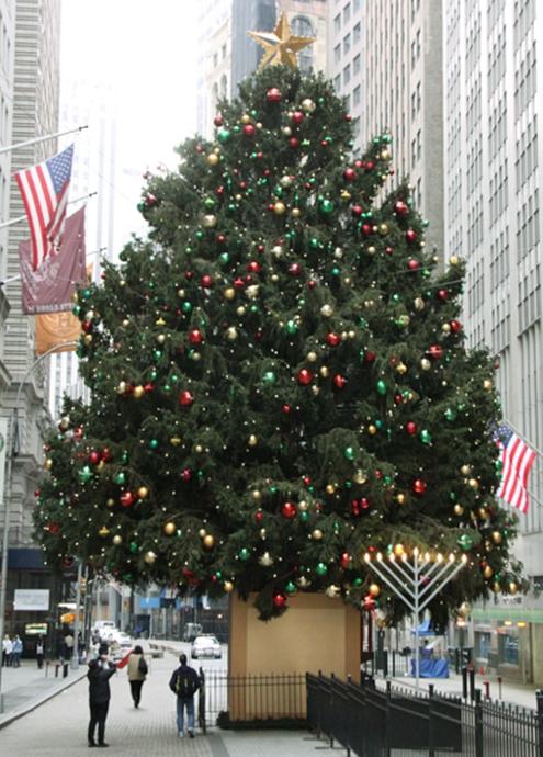 ウォールストリートのクリスマスツリー 2010_b0007805_22291052.jpg