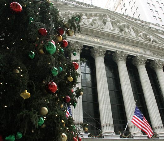 ウォールストリートのクリスマスツリー 2010_b0007805_2230022.jpg