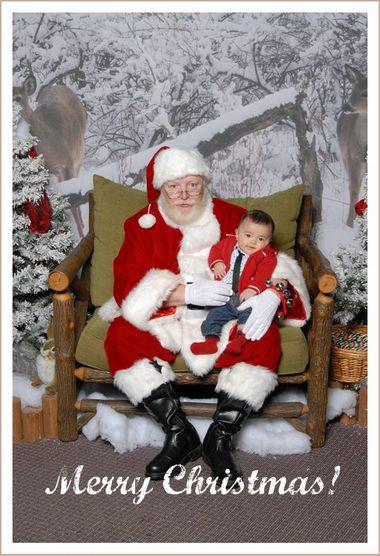 サンタさんと写真を撮ってきました_c0126120_154825.jpg