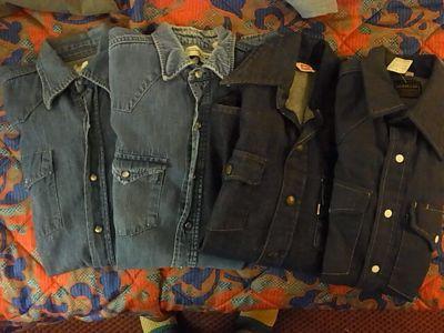 アメリカ仕入れ情報#28 50\'S BIG YANK BLACK シャンブレーシャツ_c0144020_15111763.jpg
