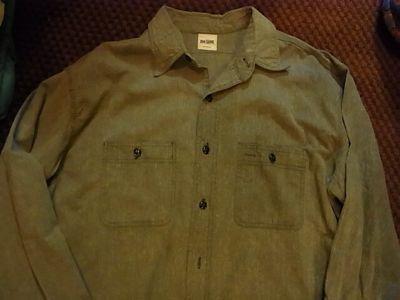 アメリカ仕入れ情報#28 50\'S BIG YANK BLACK シャンブレーシャツ_c0144020_1511239.jpg