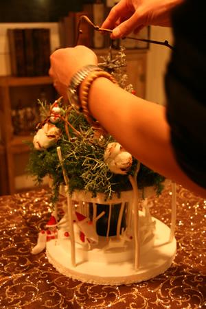 クリスマスリース まーちゃん編_d0086634_1145790.jpg