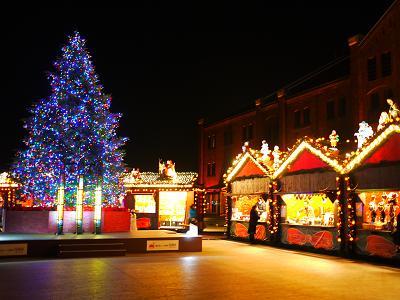 赤レンガ倉庫はクリスマス色。_b0125443_18445435.jpg