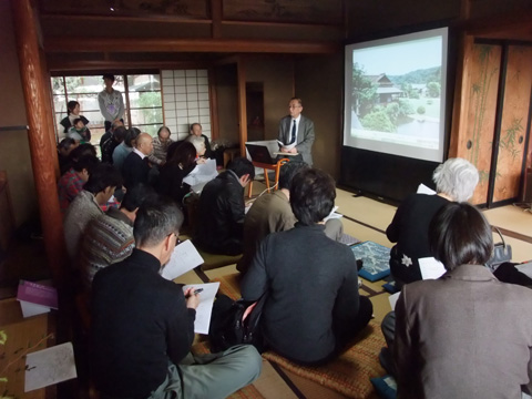 鈴木博之先生を囲んでの12月12日の邸園交流かふぇ_c0110117_16495545.jpg