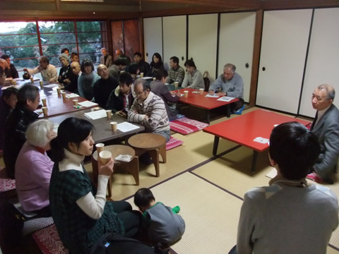 鈴木博之先生を囲んでの12月12日の邸園交流かふぇ_c0110117_16501240.jpg