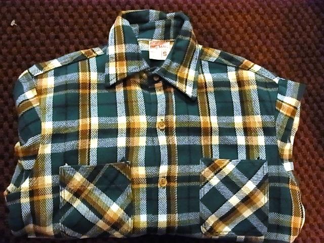 アメリカ仕入れ情報#32 BIGMAC ネルシャツ_c0144020_1217991.jpg