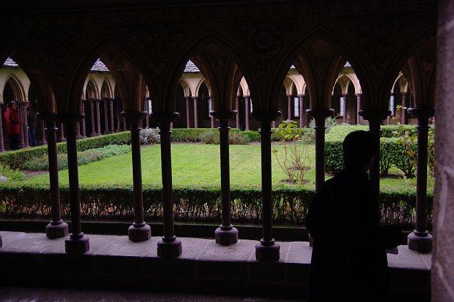 モンサンミッシェル修道院内_e0171336_919534.jpg