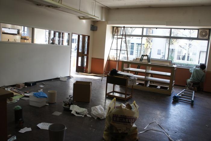 2 工事が始まりました。_d0209183_22233155.jpg