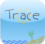 iPhone無料アプリ|Trace_d0174998_16451195.jpg