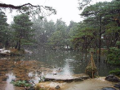 雪です! 清水園_e0135219_9414929.jpg