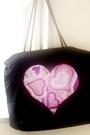 メタルビーズと手作りバッグとプラダのバッグと。_b0048834_8213312.jpg