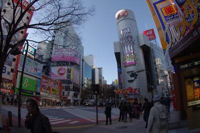 12月15日(水)今日の渋谷109前交差点_b0056983_10505483.jpg