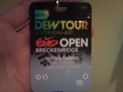 Dew Tour始まる。_a0142048_4325736.jpg