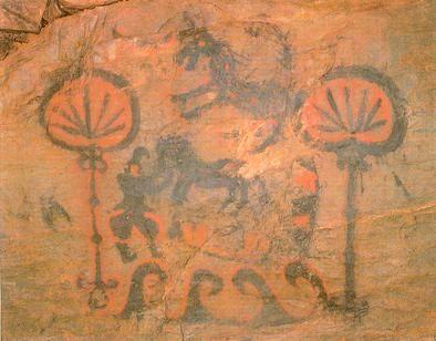 竹原古墳(1)この優美な装飾壁画は通年公開!_c0222861_13324172.jpg