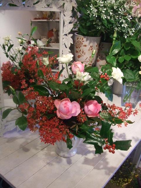 オークリーフ花の教室(吉田さんの作品)_f0049672_16172649.jpg