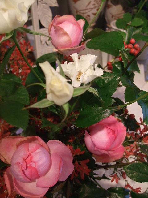 オークリーフ花の教室(吉田さんの作品)_f0049672_1621385.jpg