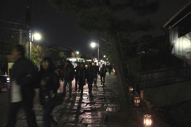 京都・嵐山花灯路1 渡月橋あたり_e0048413_14311844.jpg