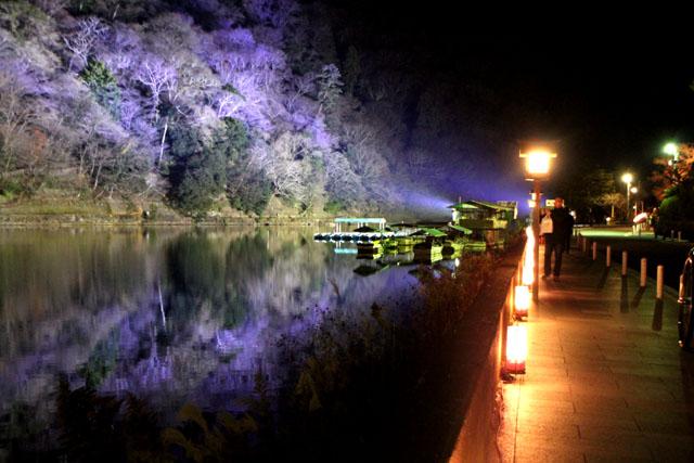京都・嵐山花灯路1 渡月橋あたり_e0048413_14321966.jpg