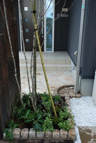 庭~ギフト。。_c0173939_23514268.jpg