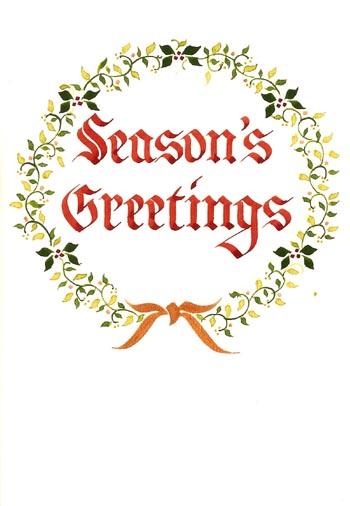 一枚一枚手書きのクリスマスカードもすばらしい_d0178448_10311318.jpg
