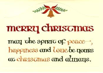 一枚一枚手書きのクリスマスカードもすばらしい_d0178448_1031325.jpg