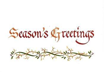 一枚一枚手書きのクリスマスカードもすばらしい_d0178448_10321131.jpg
