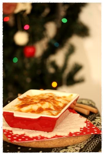 冬野菜のかぶソースチーズグラタン_b0165178_10561145.jpg