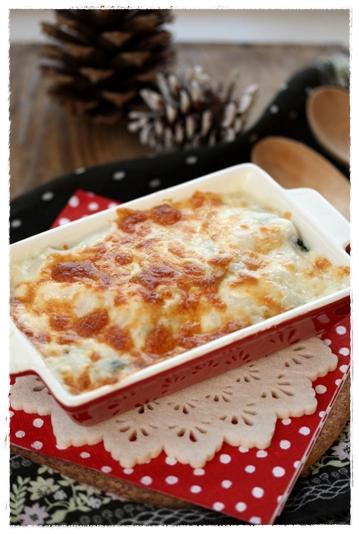 冬野菜のかぶソースチーズグラタン_b0165178_1141274.jpg