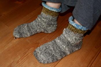 手編みの靴下_a0102486_859373.jpg