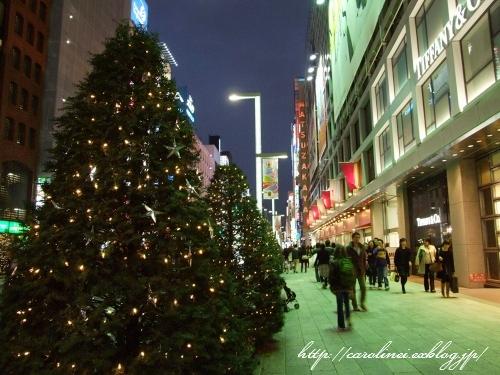 銀座クリスマスイルミネーションーその2_d0025294_0434526.jpg