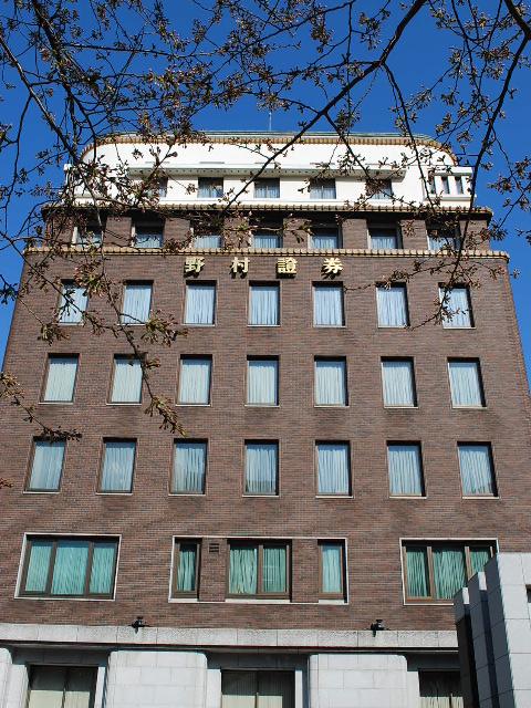 東京日本橋の野村證券本店(昭和モダン建築探訪)_f0142606_19454319.jpg