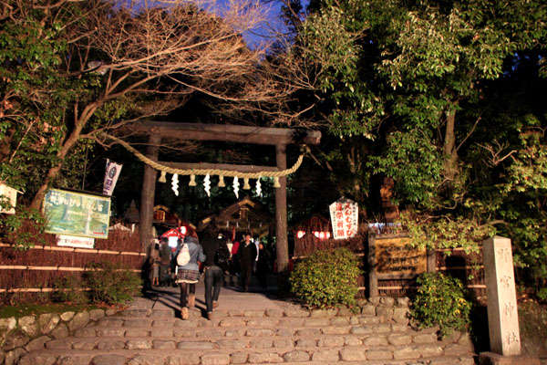 京都・嵐山花灯路2 竹林と野ノ宮_e0048413_11444572.jpg