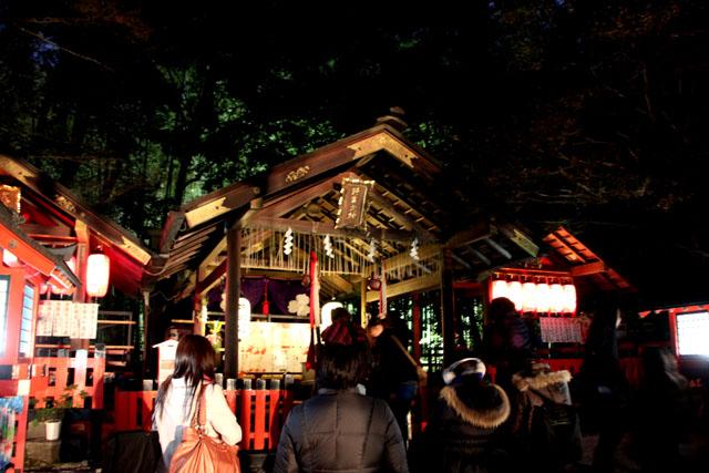 京都・嵐山花灯路2 竹林と野ノ宮_e0048413_11445932.jpg