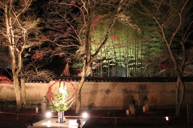 京都・嵐山花灯路3 時雨殿から宝厳院_e0048413_1330358.jpg