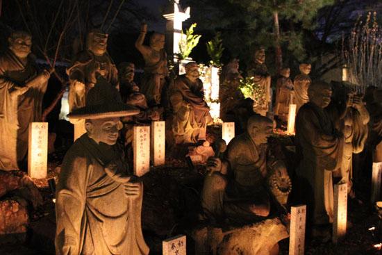 京都・嵐山花灯路3 時雨殿から宝厳院_e0048413_13305058.jpg