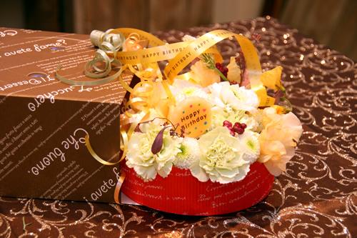 バースデーケーキアレンジ_d0086634_17161279.jpg