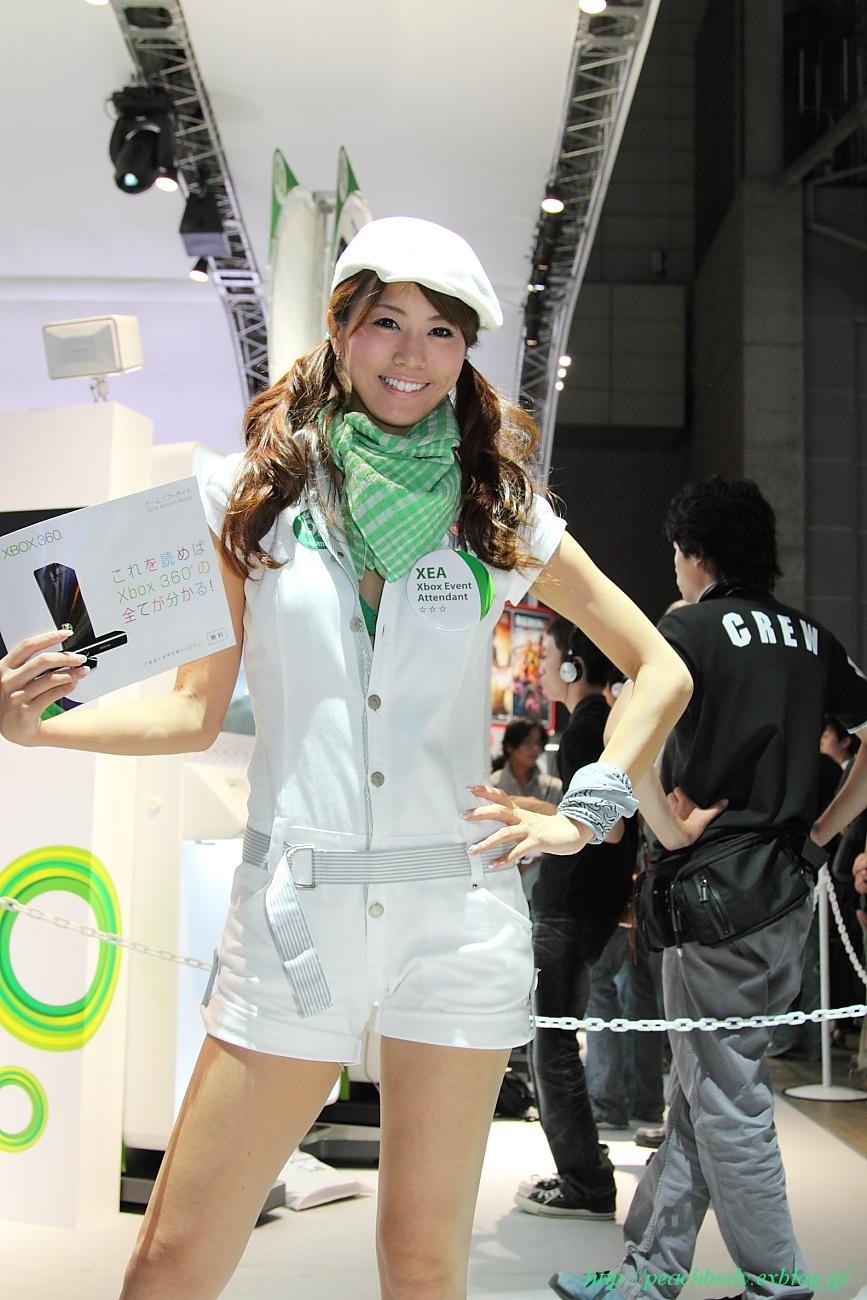 マイクロソフト(Xbox)ブース 佐野真彩さん_c0215885_9412745.jpg