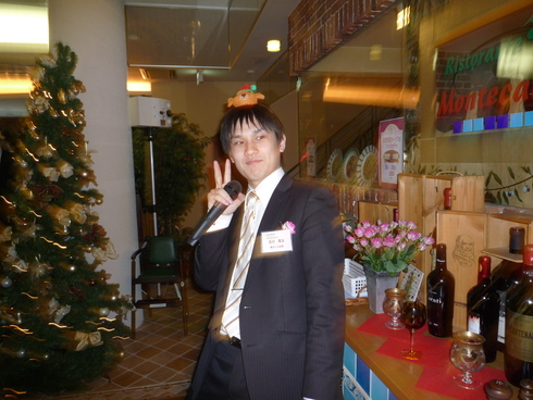 ♪クリスマス親睦会♪_e0190287_1991153.jpg