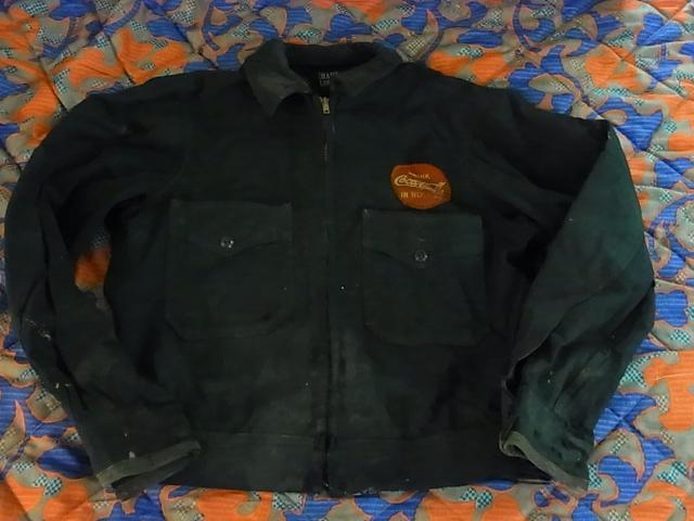 12/23(木)入荷商品!!COKE販売員WORK JKT&ハンティング_c0144020_1083354.jpg