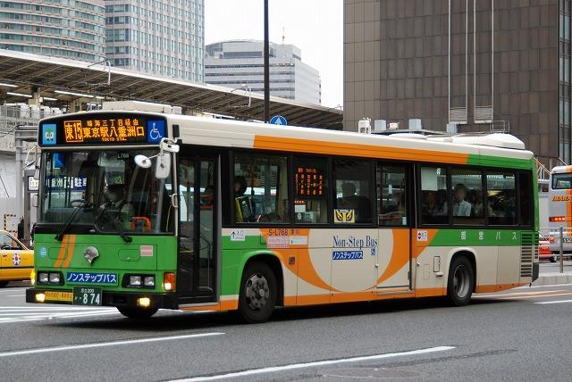 東京都交通局~日野HR10.5mノンステップバス~_a0164734_2393923.jpg